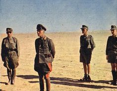 Erwin Rommel in North Africa. Date and location unknown