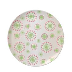 Choose from a great selection of Abstract plates ranging from dinnerware to license plates for you car. Browse our pre-existing designs or create your own on Zazzle today! Flower Plates, Abstract Flowers, Pink And Green, Dinnerware, Den, Create Your Own, Cool Stuff, Tableware, Pretty