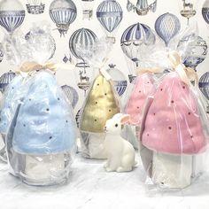 Nya fina svamplampor. Fjärilen & Grodan boutique, Skåne Län, Sweden. fjarilengrodan.se Vit kanin lampa.