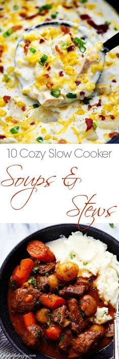 10 Cozy Slow Cooker