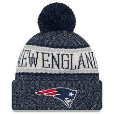 New England Patriots New Era 2018 NFL Sideline Cold Weather Official Sport  Knit Hat – Navy af3bd7494
