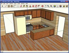 25 (Free) 3D Modeling Applications You Should Not Miss  Google SketchUp 6  Google SketchUp is software that you can use to create, share and present 3D models. Whether you want to design a new deck for your house, build models for Google Earth, or teach geometry to your fifth-graders, you can use SketchUp to see your ideas in 3D. And when you're done, you can export an image, make a movie or print out a view of what you made.