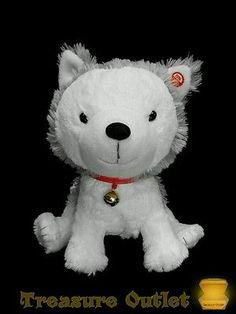 Hallmark Stuffed Plush Interactive Story Buddy2 Jingle Husky Puppy Dog 10in