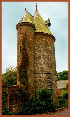 Trelissick Water Tower, Feock, Truro, Cornwall, England
