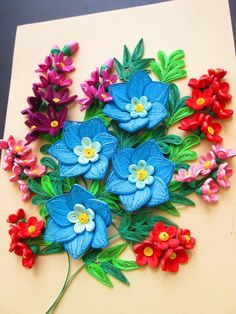 Nghệ Thuật Quilling @QuillingHoangVuong from Facebook