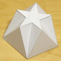 paper model pentagonal-pentagrammic shape