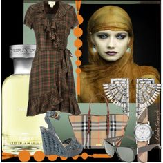 """""""Plaid me forever, oh my, yes, warm as toast cool as a breeze plaid"""" by linda caricofe on Polyvore"""