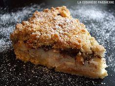 Torta croccante ripiena di ricotta e cioccolato