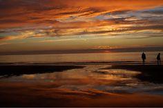 Texel0222 - Zonsondergangen op Texel