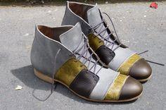 chaussures artisanales en cuir hommes Laurent Bourquin