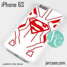 Young Justice Superboy White Suit Phone case for iPhone 6/6S/6 Plus/6S plus