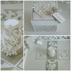 Explosionsbox zur Hochzeit ( Heike Milkuhn)