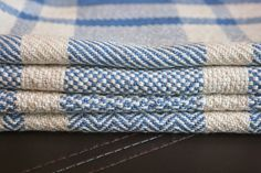 ***** PATTERN Cotton kitchen towels, 4 designs on one warp - draft included!
