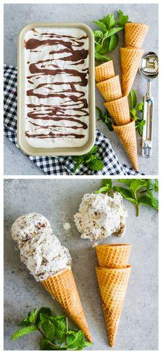 Homemade Mint Chocolate Chip Ice Cream Recipe