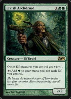 Elvish-Archdruid-x4-Magic-the-Gathering-4x-Magic-2012-mtg-rare-card-lot-elf-mana