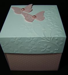 Wedding cake in a box