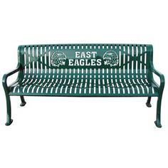 Commercial Custom Metal Outdoor Park Benches