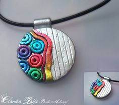 Polymer Clay & Foils by jewelleryweb, via Flickr