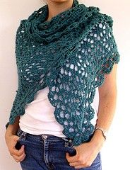 crochet shawl.  @Jamie Wise Lapeyrolerie reminds me of the one you wore the other day.  Very pretty :)