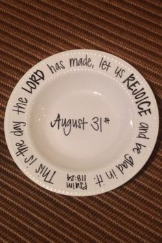 "Sharpies + Plate = Easy, Fun Craft 350 Degrees for 30 Min (Do Pinterest Search for ""Sharpie Plates"" to find tons of ideas)"