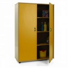 Mueble escolar medio armario y 2 puertas
