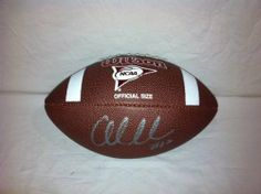 Andrew Luck Autograph Hand Signed Ncaa Football - Stanford - NFL #1 Draft Pick by WILSON. $99.98. This item is 100% authentic and signature is not a print. Each item comes with all documentation, certificate of authenticity, holograms, and proof of signing.