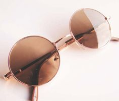a9c78b5ac4802 moda-vintage-1 Óculos De Sol Feminino Espelhado, Óculos Para Rosto Redondo,