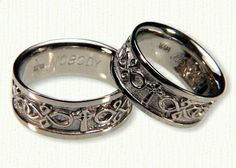 Find This Pin And More On Custom Religious Wedding Bands By Tengised