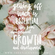 Getting off track is essential for your own personal growth and development. Feel what you need to feel, learn from it, from it and keep. going. *find out more. link in bio* . The Power Of Forgiveness, Successful People, Successful Entrepreneurs, Danielle Laporte, The Desire Map, Positive Outlook, Got Off, Motivate Yourself, Past
