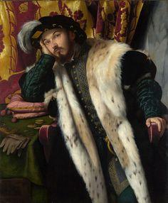 Moretto da Brescia - Portrait of a Young Man [c.1540-45]