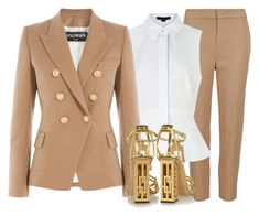"""BALMAIN x CHARLOTTE OLYMPIA"" by samstyles001 ❤ liked on Polyvore featuring M&S Collection, Alexander Wang, Balmain, Charlotte Olympia, women's clothing, women, female, woman, misses and juniors"