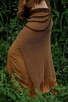 ZUM VERKAUF Terracota Brown reine Baumwolle von AnuttaraCrafts