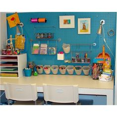 Great kids work space!