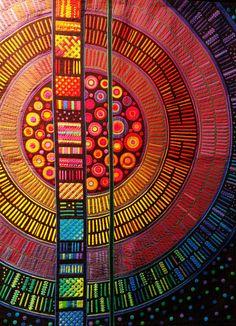 Textile art by Fumiko Nakayama