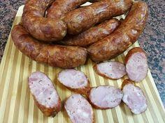 Smoked Sausage Recipes, Homemade Sausage Recipes, Polish Recipes, Polish Food, Smoking Meat, Mango, Good Food, Pork, Cooking