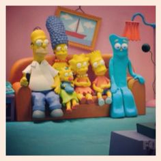 The Simpsons and Gumby