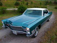 1968 Cadillac Hardtop Sedan de Ville by phantomas1000, via Flickr EVEN COOLER . TAN NO VINYL . hp