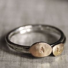 Personalized 14k gold filled and Sterling Silver by NestedYellow, $65.00