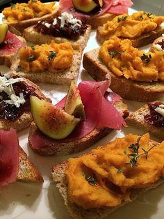 Christmas bruschetta's | Kerst bruschetta's | Recipe on www.francescakookt.nl
