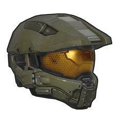 Halo: Mjolnir II power armour - Helmet (Olive Army Drab)