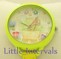 Children's Mini Yellow Fashion Watch