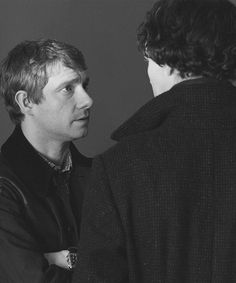 """The story of Sherlock Holmes, on the surface, is about deduction, but in reality, it's about the best of two people who save each other. They become this perfect unit. They become the best friendship ever, and they become heroes."" -Steven Moffat"