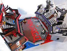 Ninjago Arena Side View by Imagine™, via Flickr