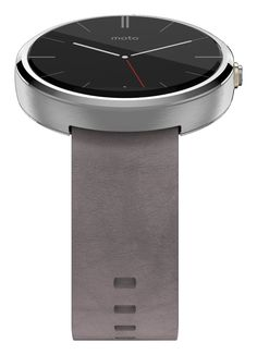 Home Computer Smartwatches Motorola Moto 360 smartwatch - Grijs met ... - Home shopping for Smart Watches best cheap deals from a wide selection of premium Smart Watches at: topsmartwatchesonline.com