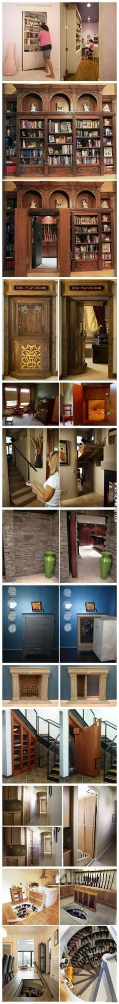 Because secret rooms are awesome.