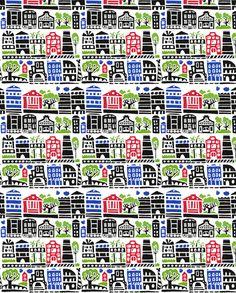 town_50sm fabric by katja_saburova on Spoonflower - custom fabric