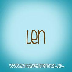 Len (Voor meer inspiratie, en unieke geboortekaartjes kijk op www.heyboyheygirl.nl)