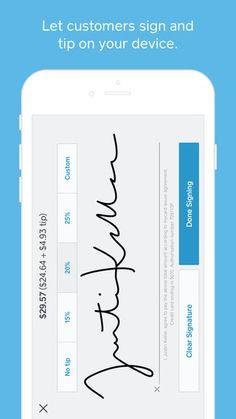 Square Register - POS app