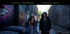 Yahoo! Movies debuts exclusive clip from 'THE MORTAL INSTRUMENTS: CITY OF BONES'