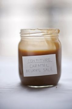 Pastry chef Kathrin Koschitzki for confiture caramel au beurre salé (salted caramel spread)